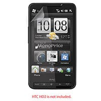 Product Image for Screen Protective Film w/ High Transparency Finish for HTC HD2