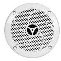 UV Resistant 4 Inch 2-Way Marine Speaker (Pair)