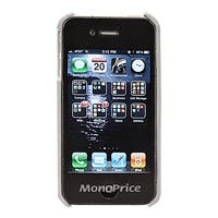 Product Image for Slim Genuine Leather Case for iPhone 4/4S - White