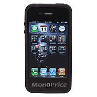 Product Image for Black iPhone� 4/4S Bumper with Clear Polycarbonate Case