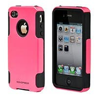 Product Image for Dual Guard PC+Silicone Case for iPhone� 4/ 4S - Pink