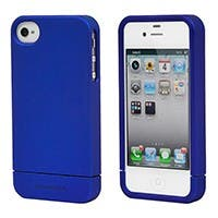 Product Image for Polycarbonate Soft Touch Case for iPhone 4/ 4S - Metallic Blue