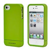 Product Image for Polycarbonate Soft Touch Case for iPhone 4/ 4S - Metallic Green