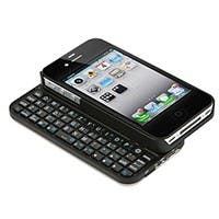 Product Image for Bluetooth� Pocket Keyboard Case for iPhone 4/ 4S - Black