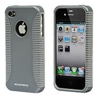 Product Image for Sure Grip PC+TPU Case for iPhone� 4/ 4S - Silver