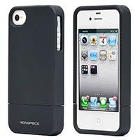 Product Image for Polycarbonate Soft Touch Case for iPhone 4/ 4S - Metallic Black