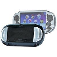 PlayStation Vita Brushed Aluminum Clamshell Protective Case - Silver
