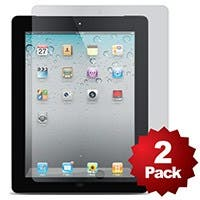 Product Image for Screen Protector (2-Pack) w/ Cleaning Cloth for iPad� 2, iPad 3, iPad 4- Matte Finish