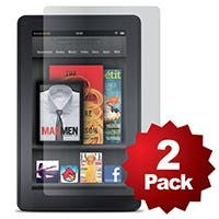 Product Image for Screen Protector (2-Pack) w/ Cleaning Cloth for First Gen (2011) Kindle Fire� - Transparent Finish