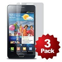 Screen Protector (3-Pack) w/ Cleaning Cloth for Samsung Galaxy SII™- Matte Finish
