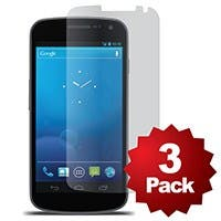 Screen Protector (3-Pack) w/ Cleaning Cloth for Samsung Galaxy Nexus™ - Matte Finish