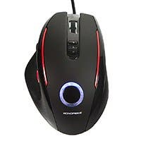 5-Button Optical Laser Gaming Mouse - Black