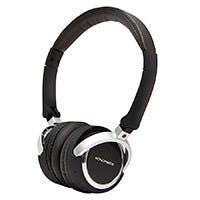 Product Image for Premium Bluetooth™ On-the-Ear Headphone with Built-in Microphone  - Black
