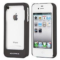 Product Image for PC Case with Credit Card/ ID Holster for iPhone� 4/ 4S - Black