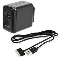 Wall Charger for all 30-pin iPad®, iPhone®, iPod® - Black