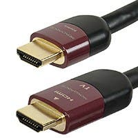 Product Image for 50ft Ultra Slim Series High Performance HDMI® Cable w/ RedMere® Technology