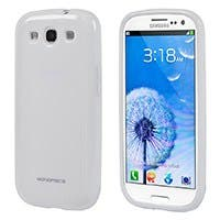 Product Image for TPU Case for Samsung Galaxy SIII -White