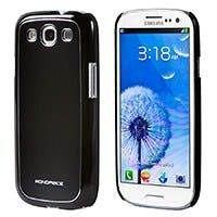 Aircase Aluminum + Polycarbonate Case for Samsung Galaxy SIII - Black