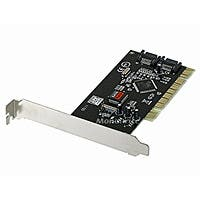 Product Image for 2 Port SATA Serial ATA PCI RAID Controller Card - Silicone Image