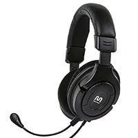 Product Image for Amplified Gaming Headset for Wii U,Xbox 360, PS3 & PC - BLACK