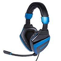 7.1 Dolby Digital Amplified Gaming Headset for Xbox® 360, PS3®, and PC - BLACK