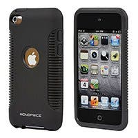 Product Image for Sure Grip PC+TPU Case for iPod® Touch 4 - Black
