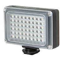 LED Camera Light with 54-Piece LED and 5,500K Color Temperature