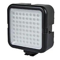 64 LED Photo / Video Light Panel - Black