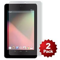 Product Image for Screen Protector (2-Pack) w/ Cleaning Cloth for Nexus 7® - Transparent Finish