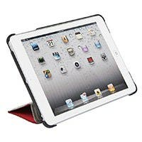 Product Image for Synthetic Leather Stand/Cover with Magnetic Latch for iPad mini™ - Red
