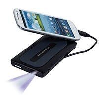 Product Image for Mobile Media Display Pico Projector and Battery Backup