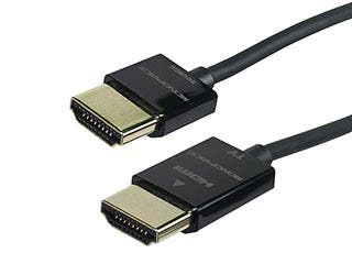 Product Image for Ultra Slim Active High Speed HDMI® Cable with RedMere® Technology, 3ft Black