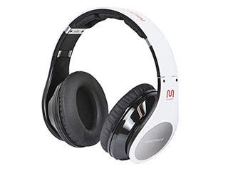 Product Image for Premium Bluetooth® Hi-Fi Over-the-Ear Headphones - White
