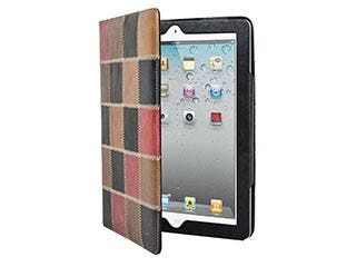 Product Image for PatchWork Genuine Leather Cover and Stand for all 9.7-inch iPad®