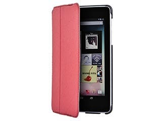 Product Image for Ultra-Slim Stand/Cover with Secure Closure for Nexus® 7 - Red
