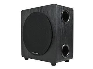 Product Image for Wireless 8-inch 110-Watt Powered Subwoofer - Black