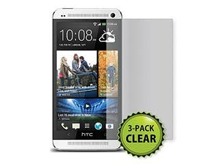 Product Image for Screen Protector 3-Pack for HTC One- Clear