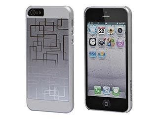 Product Image for Neutra PC Soft Touch+Steel Case for iPhone® 5/5s/SE - Silver