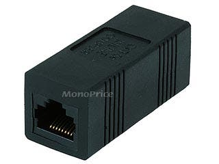 Product Image for Cat5e Inline Coupler - Black