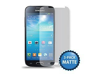 Product Image for Screen Protector (3-Pack) w/ Cleaning Cloth for Samsung S®4 Mini - Matte Finish