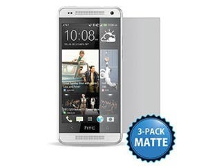 Product Image for Screen Protector (3-Pack) w/ Cleaning Cloth for HTC One™ Mini - Matte Finish