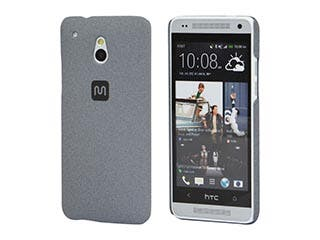 Product Image for PC Case with Soft Sand Finish for HTC One® Mini - Granite Gray
