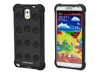 Product Image for DotDefender PC+Silicone Case for Samsung Galaxy Note 3 - Black