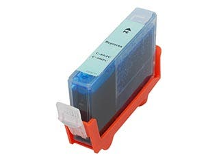 Product Image for MPI Compatible Canon BCI-3ePC BCI-5/6PC Inkjet- Photo Cyan (High Yield)