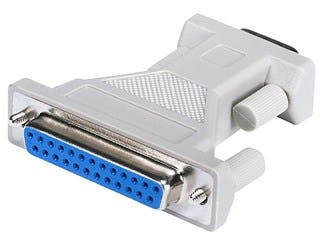 Product Image for DB9M/DB25F, Adaptor, Molded