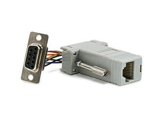 Product Image for DB9F/RJ-45,Modular Adaptor