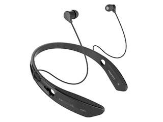 Product Image for Bluetooth® In-Ear Headphones with aptX® NFC and Built-in Microphone- Black