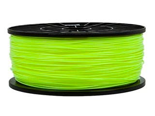 Product Image for Premium 3D Printer Filament PLA 1.75MM 1kg/spool, Fluorescent Yellow