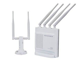 Product Image for AC1200 Wireless Dual Band Gigabit Router + USB Adapter Combo