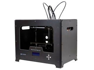Product Image for Dual Extrusion 1.75mm ABS/PLA/PVA 3D Printer - Black Metal Housing + Bonus 2x 1kg PLA Filament